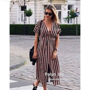 Zara midi dress size small.